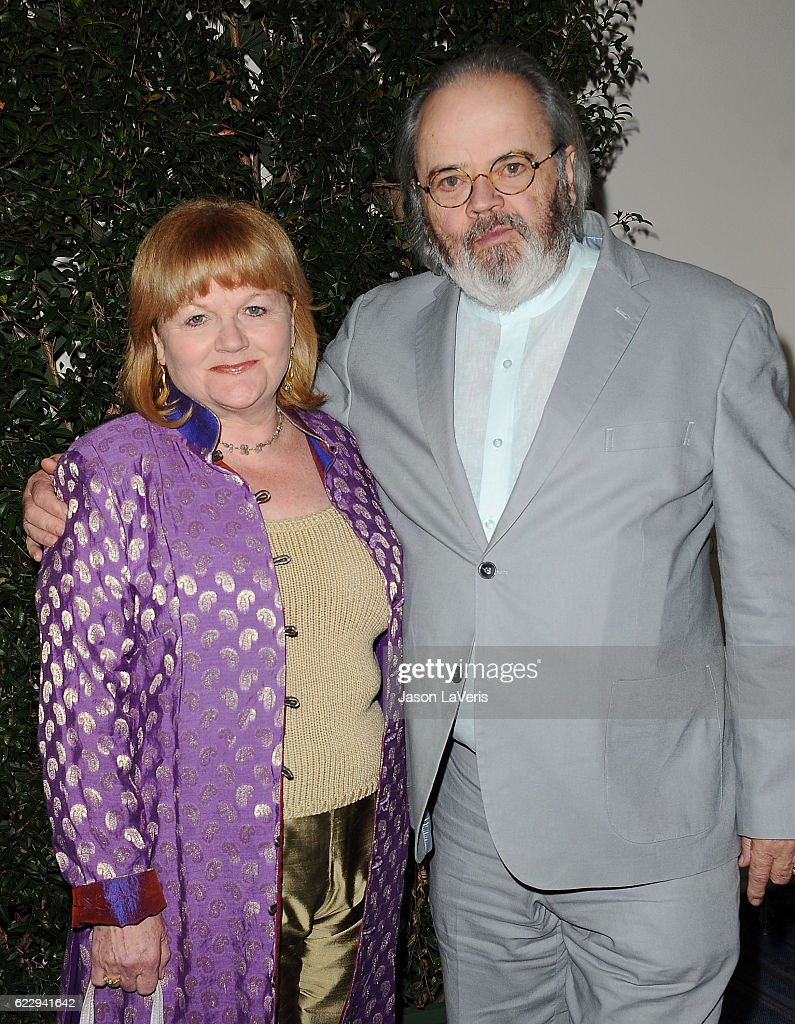 Actress Lesley Nicol and husband David Keith Heald attend Farm Sanctuary's 30th anniversary gala at the Beverly Wilshire Four Seasons Hotel on November 12, 2016 in Beverly Hills, California.