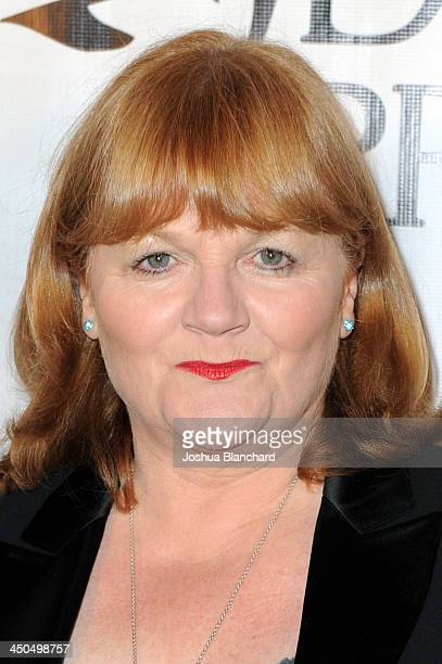 Actress Lesley Nicol arrives at the Avalon for Kings of Chaos Tokyo Celebrates The Dolphin Benefit Concert on November 18, 2013 in Hollywood,...