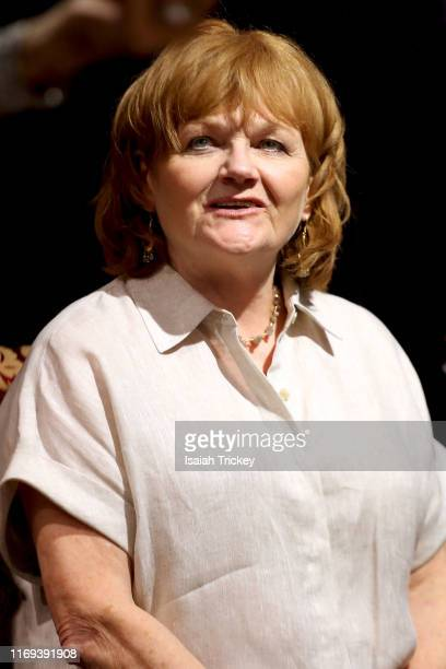 Actress Lesley Nicol attends Indigo Presents Downton Abbey In Conversation and Experimental Event at Indigo Bay Bloor on September 18 2019 in Toronto...