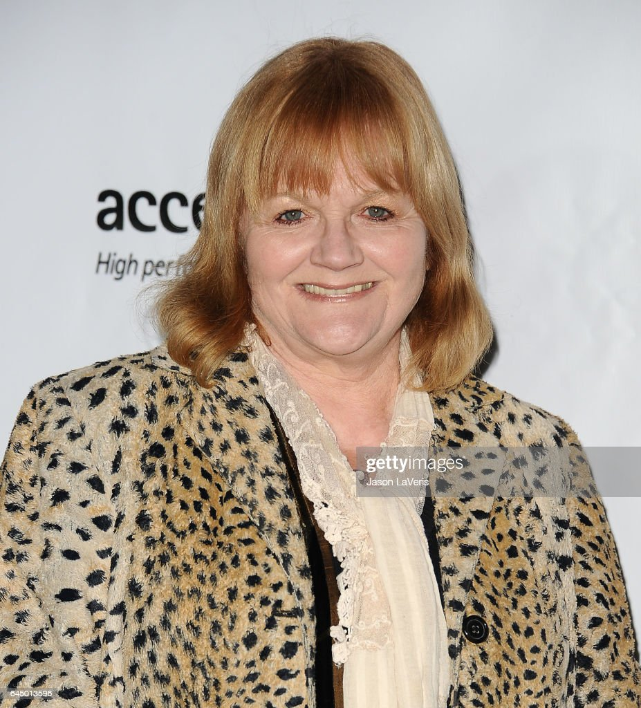 Actress Lesley Nicol attends the 12th annual Oscar Wilde Awards at Bad Robot on February 23, 2017 in Santa Monica, California.