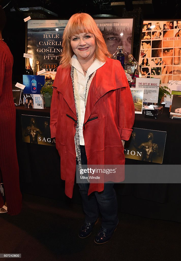 Actress Lesley Nicol attends The 22nd Annual Screen Actors Guild Awards Behind-The-Scenes Day 1 on January 28, 2016 in Los Angeles, California. 25650_010