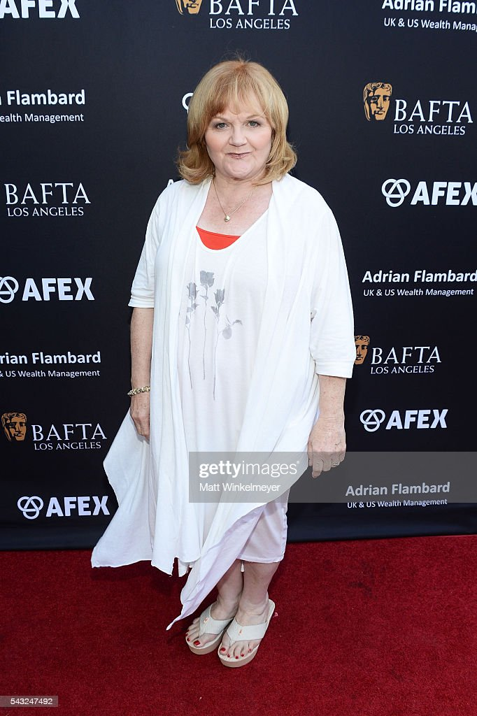 Actress Lesley Nicol attends the BAFTA LA Garden Party on June 26, 2016 in Los Angeles, California.