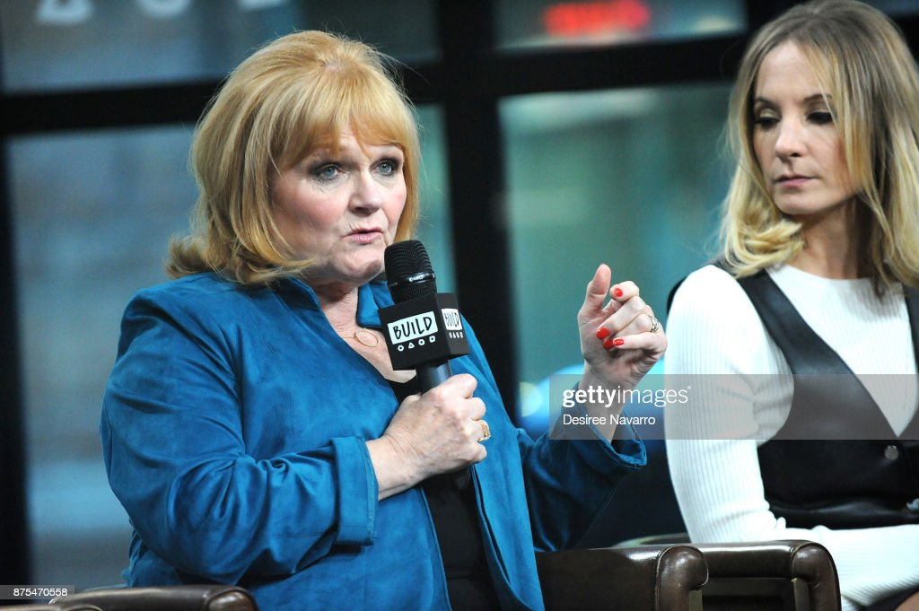 Actress Lesley Nicol visits Build Series to discuss 'Downton Abbey: The Exhibition' at Build Studio on November 17, 2017 in New York City.
