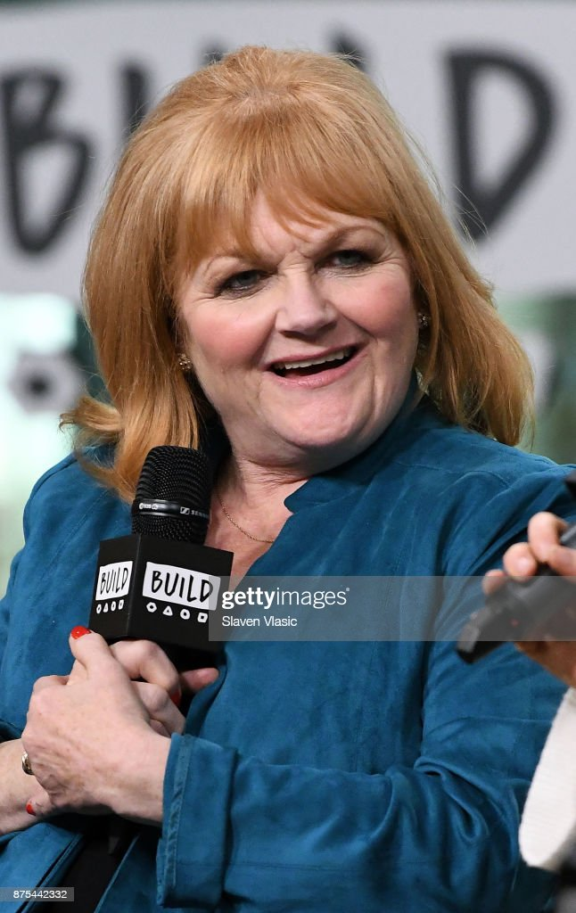 Actress Lesley Nicol visits Build to discuss 'Downton Abbey: The Exhibition' at Build Studio on November 17, 2017 in New York City.