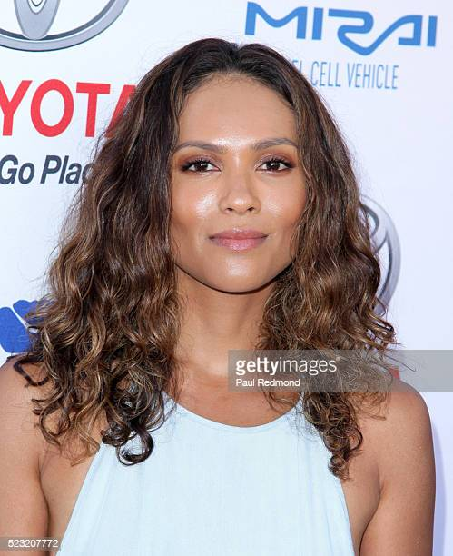 Actress LesleyAnn Brandt arriving at Keep It Clean A Live Comedy Benefit For Waterkeeper Alliance at Avalon on April 21 2016 in Hollywood California