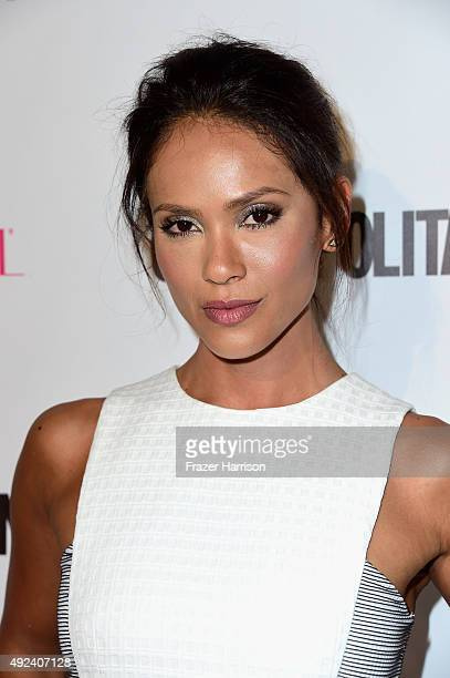 Actress LesleyAnn Brandt attends Cosmopolitan's 50th Birthday Celebration at Ysabel on October 12 2015 in West Hollywood California