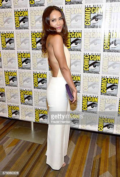 Actress LesleyAnn Brandt attends the 'Lucifer' Press Line during ComicCon International 2016 at Hilton Bayfront on July 23 2016 in San Diego...