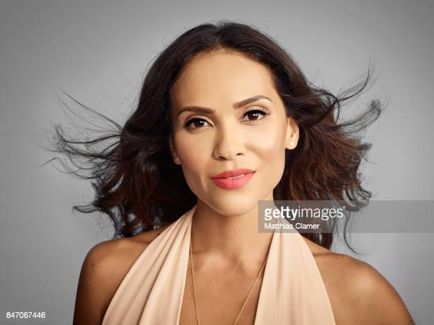 Actress LesleyAnn Brandt from 'Lucifer' is photographed for Entertainment Weekly Magazine on July 23 2016 at Comic Con in the Hard Rock Hotel in San...