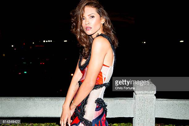 Actress LesleyAnn Brandt is photographed for New York Moves on January 16 2016 in Santa Monica California