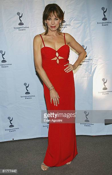 Actress LesleyAnne Down attends the 32nd International Emmy Awards ceremony at the New York Hilton Hotel November 22 2004 in New York City