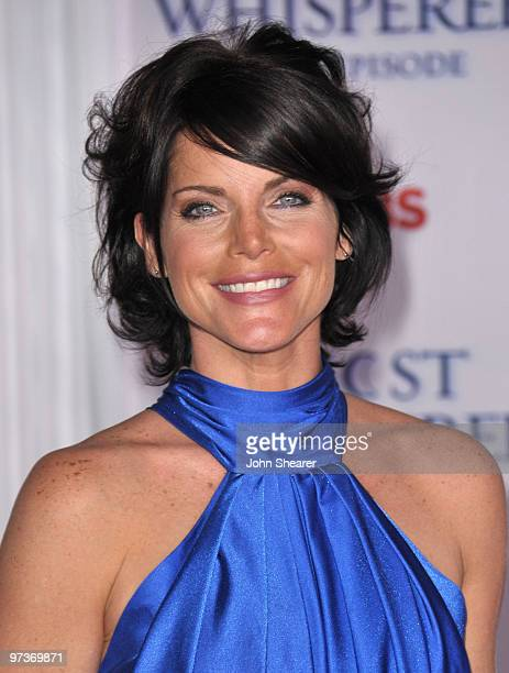 Actress Lesli Kay arrives to the Ghost Whisperer 100th Episode Celebration at XIV on March 1 2010 in West Hollywood California