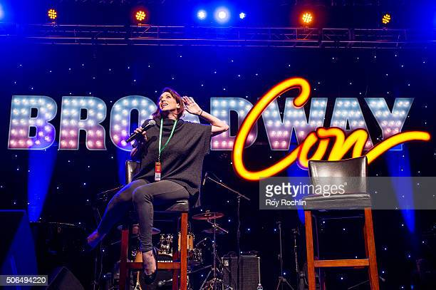 Actress Lesli Margherita attends BroadwayCon 2016 at the New York Hilton Midtown on January 23, 2016 in New York City.