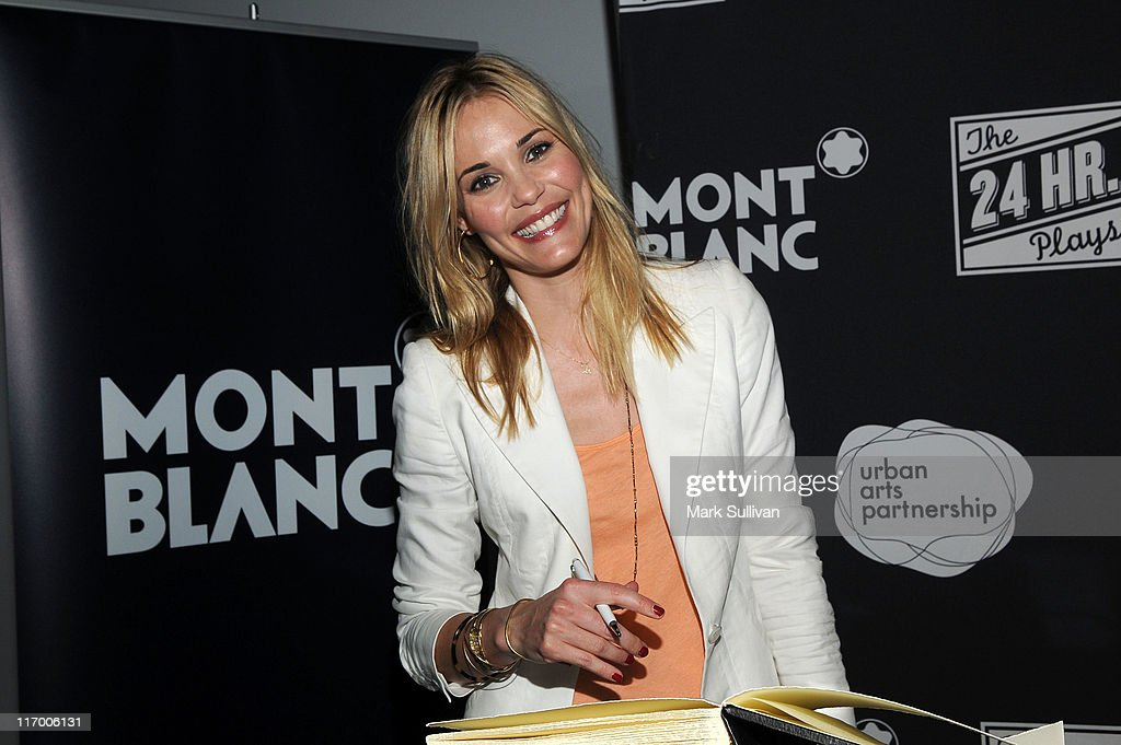Montblanc Presents West Coast Debut Of The 24 Hour Plays - Red Carpet : News Photo