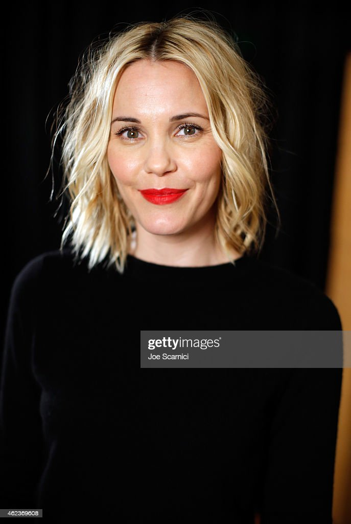 Actress Leslie Bibb attends The Variety Studio At Sundance Presented By Dockers Day 4 on January 27, 2015 in Park City, Utah.