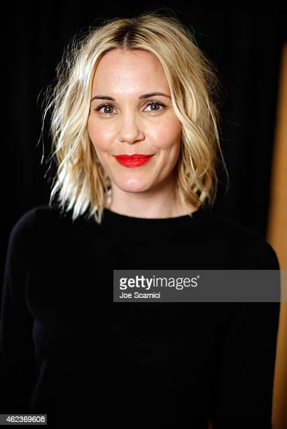 Actress Leslie Bibb attends The Variety Studio At Sundance Presented By Dockers Day 4 on January 27 2015 in Park City Utah