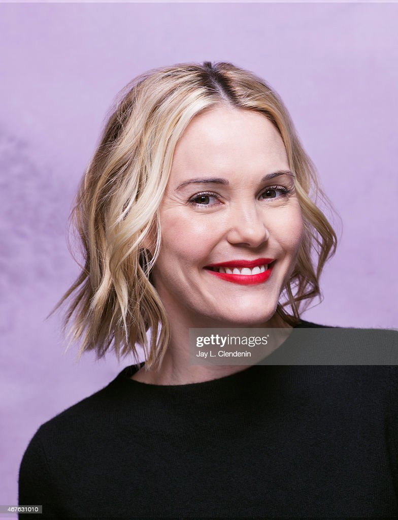 Actress Leslie Bibb is photographed for Los Angeles Times at the 2015 Sundance Film Festival on January 24, 2015 in Park City, Utah. PUBLISHED IMAGE.