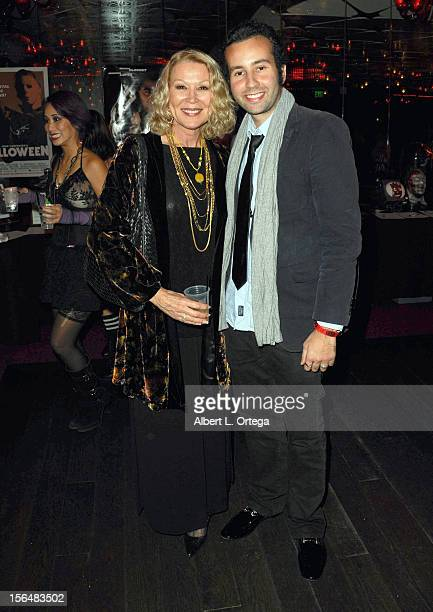 Actress Leslie Easterbrook and actor Paul Tirado arrive for sCare Foundation's 2nd Annual Halloween Benefit held at The Conga Room at LA Live on...