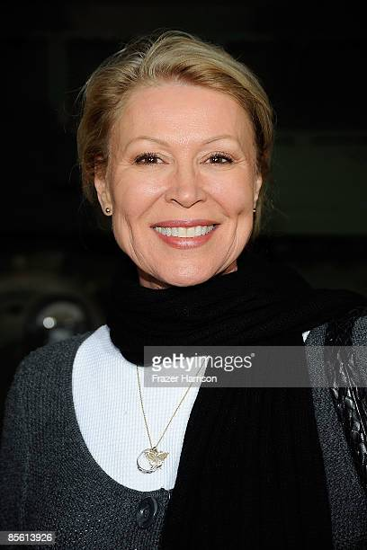 Actress Leslie Easterbrook arrives at the Premiere Of American Identity on March 25 2009 at the Samuel Goldwyn Theater at the Academy of Motion...