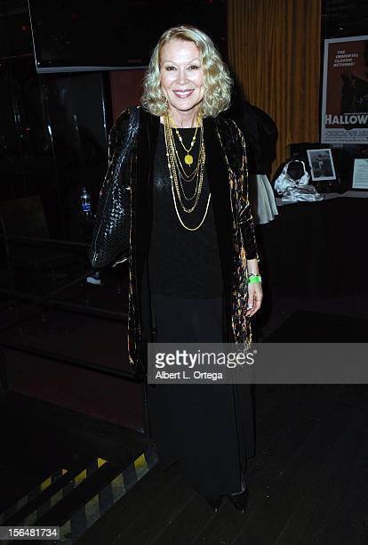 Actress Leslie Easterbrook arrives for sCare Foundation's 2nd Annual Halloween Benefit held at The Conga Room at LA Live on October 28 2012 in Los...