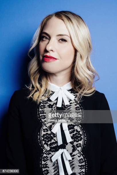 Actress Leslie Grossman poses for a portrait at the Wrap offices on November 14 2017 in Los Angeles California