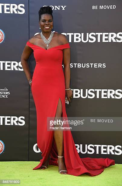Actress Leslie Jones arrives at the Premiere of Sony Pictures' Ghostbusters at TCL Chinese Theatre on July 9 2016 in Hollywood California