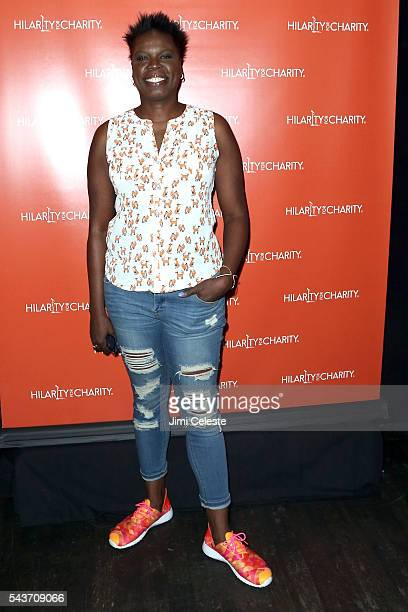 Actress Leslie Jones attends Seth and Lauren Rogen's Hilarity for Charity Comes to New York at Highline Ballroom on June 29 2016 in New York City