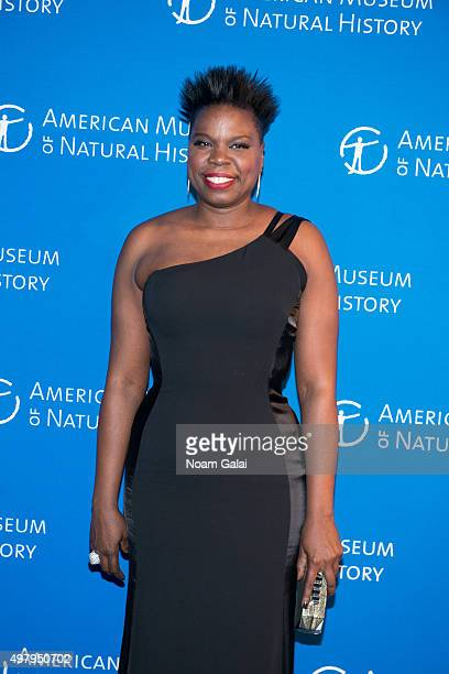 Actress Leslie Jones attends the 2015 American Museum of Natural History Museum Gala at American Museum of Natural History on November 19 2015 in New...