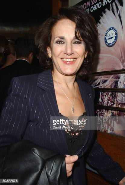 """Actress Leslie Josephs attends press night for """"Beautiful And Damned,"""" a new musical based on the lives of American novelist F Scott Fitzgerald and..."""