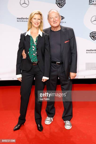 US actress Leslie Malton and German actor Burghart Klaussner attend the First Steps Awards 2017 at Stage Theater on September 18 2017 in Berlin...