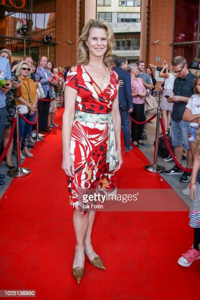 Actress Leslie Malton during the musical premiere of 'BEAT IT! - Die Show ueber den King of Pop' at Stage Theater am Potsdamer Platz on August 29,...