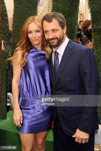 Actress Leslie Mann and director Judd Apatow arrive at Spike TV's 2009 Guys Choice Awards held at the Sony Studios on May 30 2009 in Los Angeles...