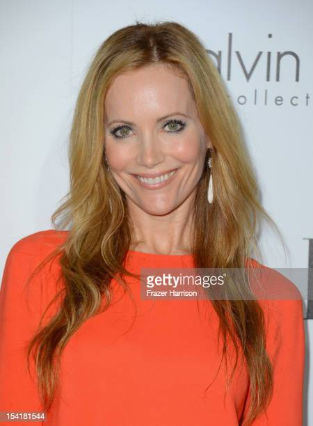 Actress Leslie Mann arrives at ELLE's 19th Annual Women In Hollywood Celebration at the Four Seasons Hotel on October 15 2012 in Beverly Hills...