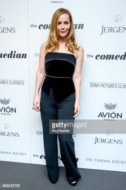 Actress Leslie Mann attends a Screening Of Sony Pictures Classics' 'The Comedian' at Museum of Modern Art on January 31 2017 in New York City