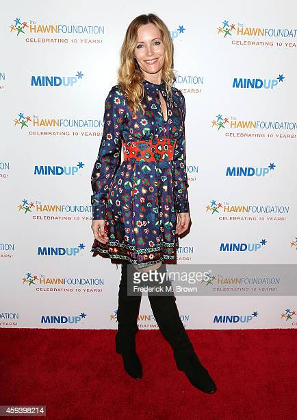 Actress Leslie Mann attends Goldie Hawn's Inaugural 'Love In For Kids' Benefiting The Hawn Foundation's MindUp Program at Ron Burkle's Green Acres...