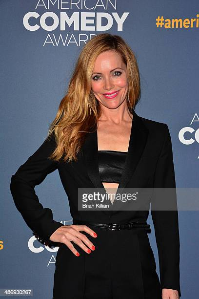 Actress Leslie Mann attends the 2014 American Comedy Awards at Hammerstein Ballroom on April 26 2014 in New York City