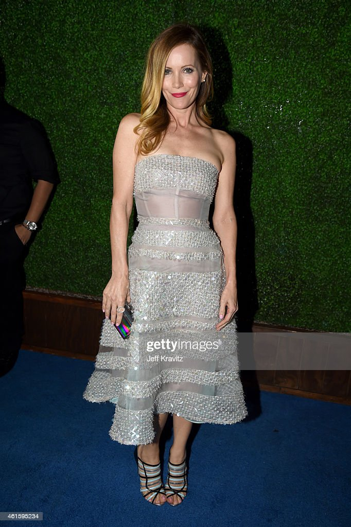 Actress Leslie Mann attends the 20th annual Critics' Choice Movie Awards at the Hollywood Palladium on January 15, 2015 in Los Angeles, California.