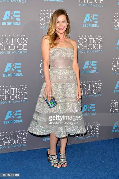Actress Leslie Mann attends the 20th annual Critics' Choice Movie Awards at the Hollywood Palladium on January 15 2015 in Los Angeles California
