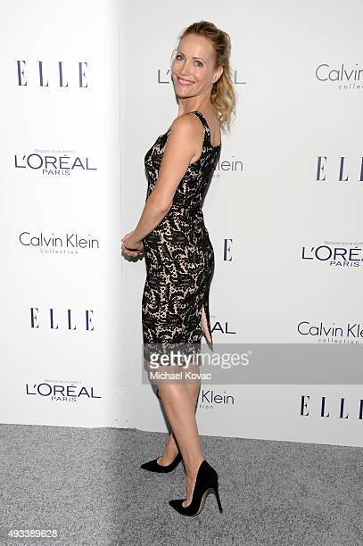 Actress Leslie Mann attends the 22nd Annual ELLE Women in Hollywood Awards at Four Seasons Hotel Los Angeles at Beverly Hills on October 19 2015 in...