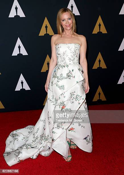Actress Leslie Mann attends the Academy of Motion Picture Arts and Sciences' 8th annual Governors Awards at The Ray Dolby Ballroom at Hollywood...