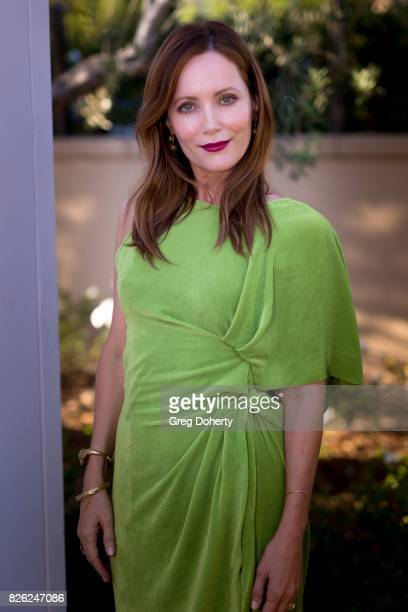 Actress Leslie Mann attends the Los Angeles Confidential Celebrates Fashion Island's 50th Anniversary With Summer Cover Star Leslie Mann on August 3...