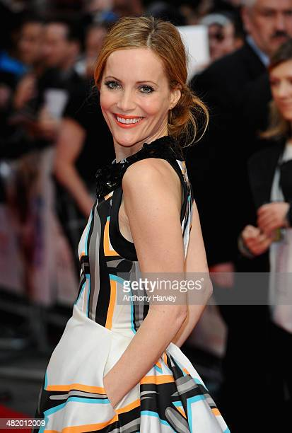 Actress Leslie Mann attends The Other Woman UK premiere at the Curzon Mayfair on April 2 2014 in London England