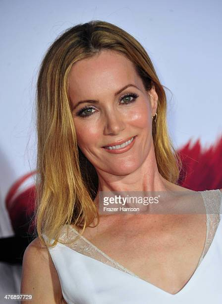 Actress Leslie Mann attends the premiere of Twentieth Century Fox and DreamWorks Animation's Mr Peabody Sherman at Regency Village Theatre on March 5...