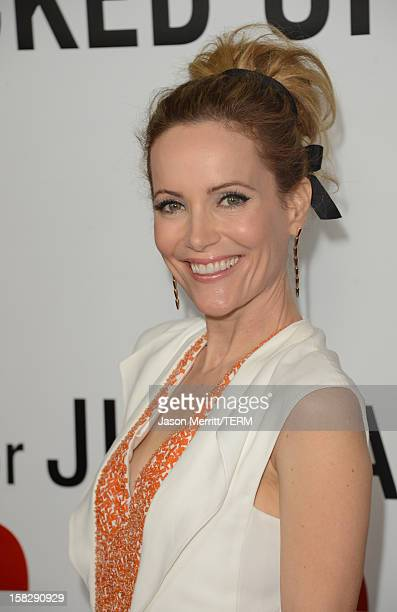 Actress Leslie Mann attends the premiere of Universal Pictures' 'This Is 40' at Grauman's Chinese Theatre on December 12 2012 in Hollywood California