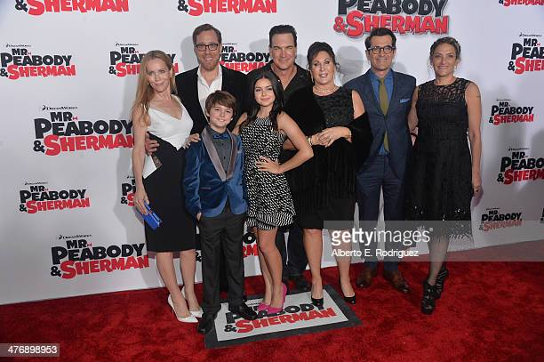 Actress Leslie Mann, Director Rob Minkoff, actor Patrick Warburton, executive producer Tiffany Ward, actor Ty Burrell, producer Alex Schwartz actors...