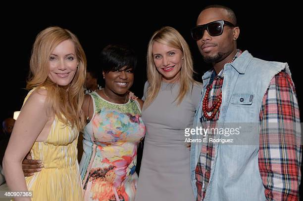 Actress Leslie Mann Ester Dean actress Cameron Diaz and BOB attend 20th Century Fox's Special Presentation Highlighting Its Future Release Schedule...