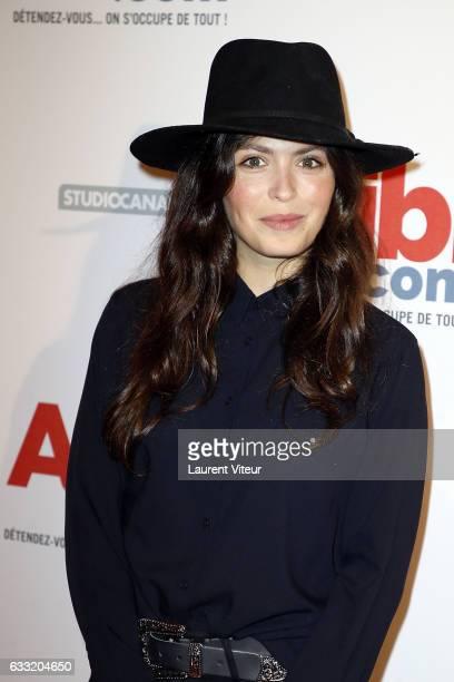 Actress Leslie Medina attends the Alibicom Paris Premiere at Cinema Gaumont Opera on January 31 2017 in Paris France