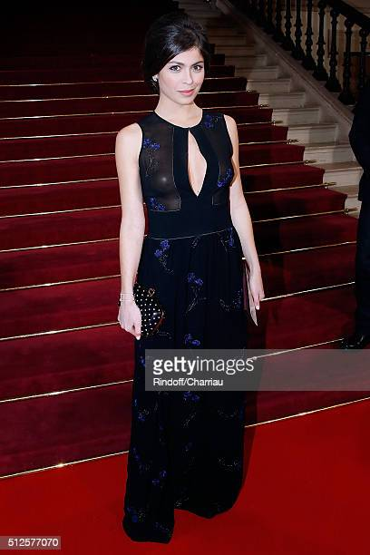 Actress Leslie Medina attends the Cesar Film Award 2016 at Theatre du Chatelet on February 26 2016 in Paris France