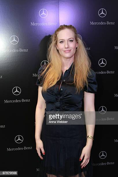 Actress Leslie Newman arrives at Soho House on March 7 2010 in West Hollywood California