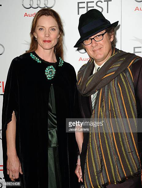 Actress Leslie Stefanson and actor James Spader attend the 2012 AFI Fest premiere of Lincoln at Grauman's Chinese Theatre on November 8 2012 in...
