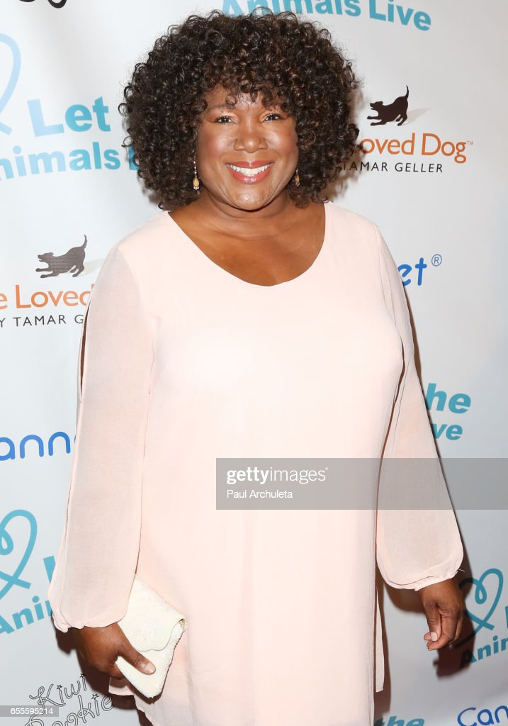 Actress Leslie Thurston attends the 'Let The Animals Live' gala at The Olympic Collection Banquet & Conference Center on March 19, 2017 in Los Angeles, California.